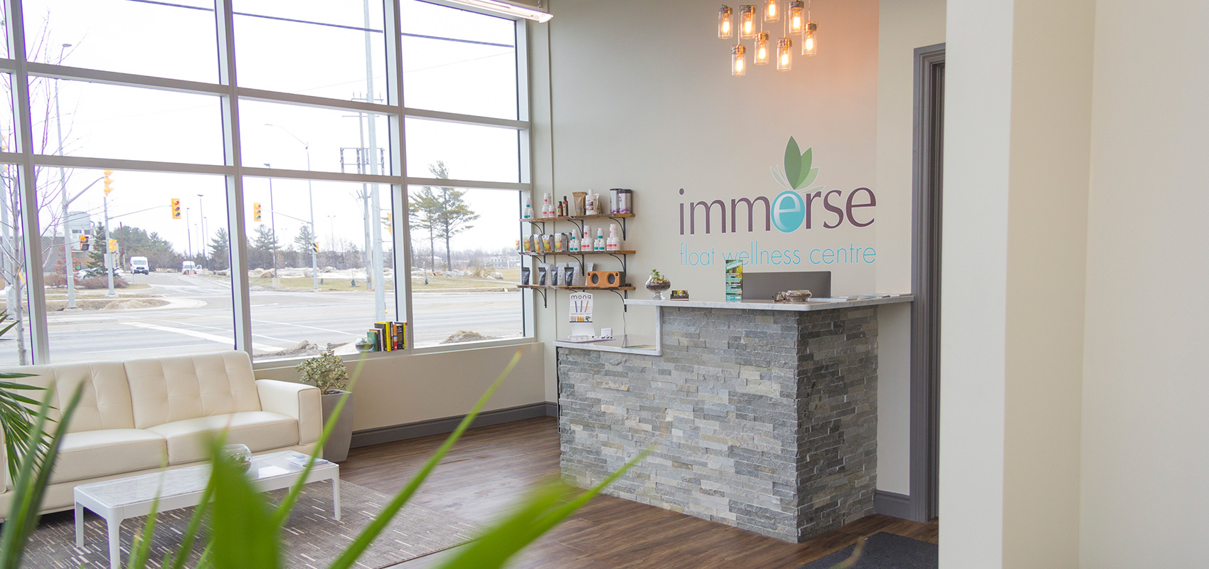 Immerse Spa Interior